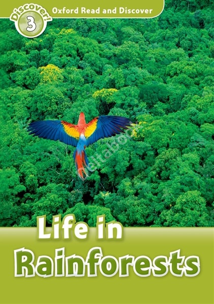 Life in Rainforests + Audio CD