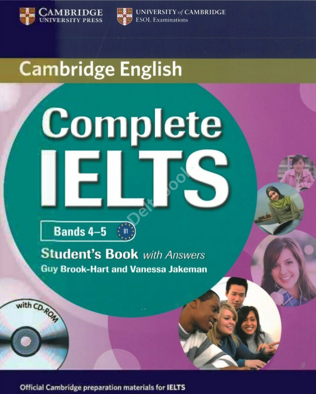 Complete IELTS Bands 4-5 Student's Book + CD-ROM + Answers  Учебник + ответы