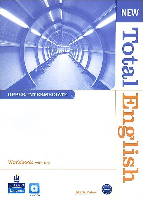 New Total English Upper-Intermediate Workbook + Audio CD + key  Рабочая тетрадь + ответы