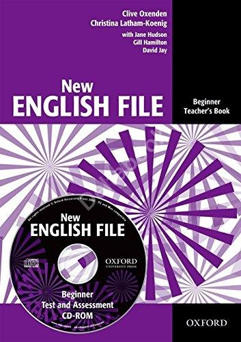 New English File Beginner Teacher's Book + CD-ROM  Книга для учителя