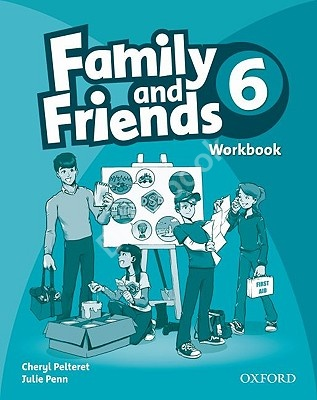 Family and Friends 6 Workbook  Рабочая тетрадь