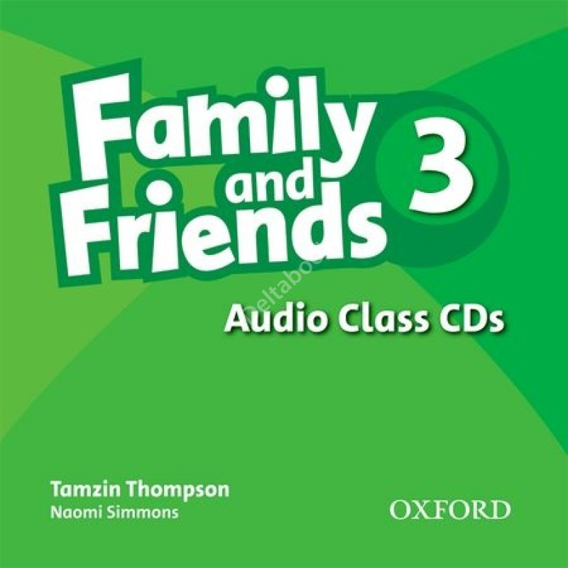 Family and Friends 3 Audio Class CDs  Аудиодиски