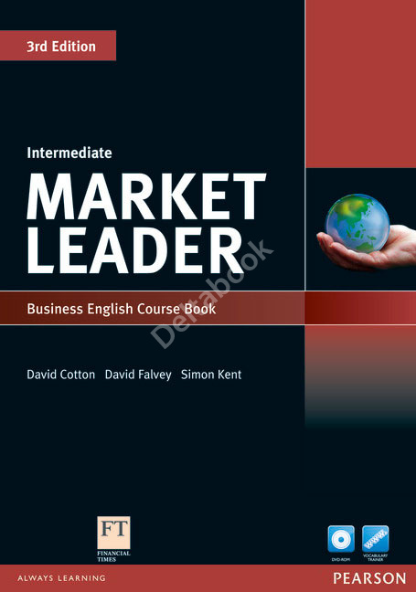 Market Leader (3rd Edition) Intermediate Course Book + DVD-ROM + MyEnlglishLab  Учебник + онлайн-код