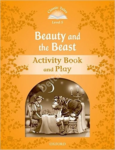 Beauty and the Beast Activity Book and Play