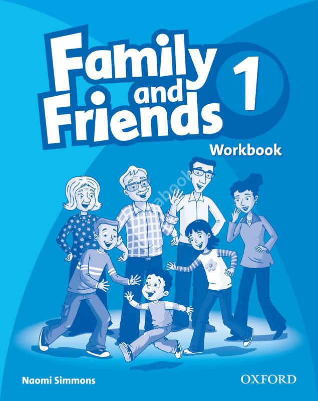 Family and Friends 1 Workbook  Рабочая тетрадь