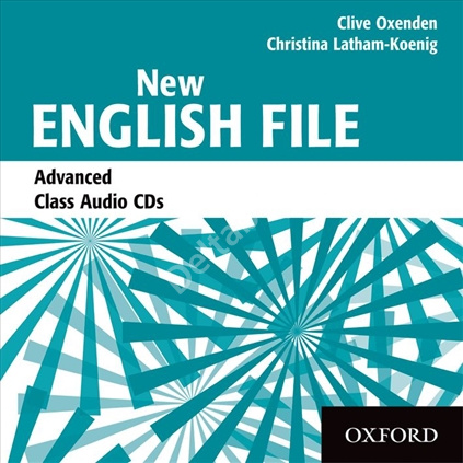 New English File Advanced Class Audio CDs  Аудиодиски
