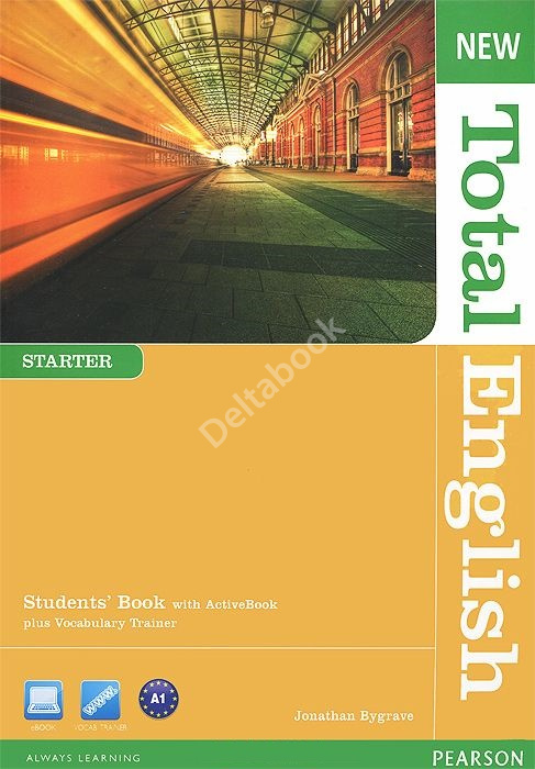 New Total English Starter Student's Book + CD-ROM  Учебник