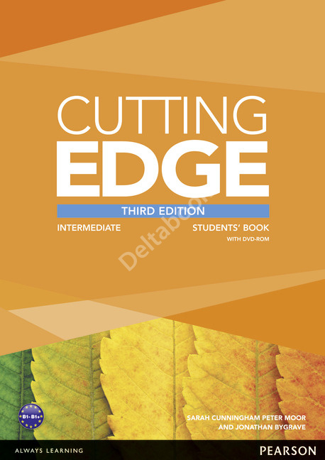 Cutting Edge (Third Edition) Intermediate Student's Book + DVD-ROM  Учебник